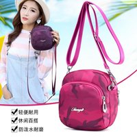 Backpack Mini Bag Nylon Waterproof Shoulder Crossbody Small Leisure Sports Waist Middle-Aged Women's Oxford Cloth