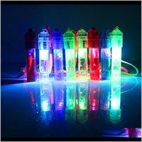 LED-lichte fluitje Kleurrijke lichtgevende lawaai maker kinderen kinderen speelgoed verjaardag nieuwigheid rekwisieten kerstfeest benodigdheden RRA2040 9XNMS KBEJN