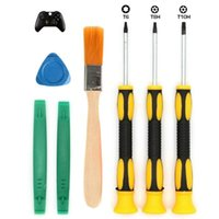 Professional Hand Tool Sets 1 Set DIY Tools T6 T8 T10 Screwdriver Repair Install And Open Kit For X Box One 360 PS3 PS4 Laptop, MacBook, Com