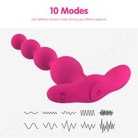 Anal Beads Vibrator Wireless Remote Control Butt Plug Silicone Anus Masturbator Male Prostate Massage Sex Toys for Woman and Man