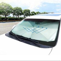 Car Sunshade Cover Heat Insulation Front Window Interior Protection 145CM Foldable Windshield Sun Shade Umbrella