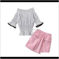 Baby Clothing Baby, & Maternitysami Clothes Girls Summer Set Skirts Dress Sets Two-Piece Kids Suit Children Clothing1 Drop Delivery 2021 Gsf