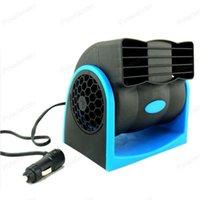 Car Fans 7W Vehicle Auto Cooling Air Fan 12V Mini Portable Cigarette Lighter Plug Vent Cooler Conditioner Low Noise