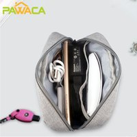 Storage Bags Portable Digital Bag Waterproof Electronic Accessories Organizer Pouch Case For Cable Power Bank Charger Earphone Travel