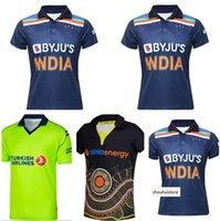 2021 الكريكيت الفانيلة قميص الركبي جيرسي أيرلندا الهند أستراليا ماوري أحدث لاعب نسخة موحدة زيلندا قميص