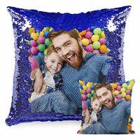 11 cores diy sublimação em branco 40 * 40 almofada de sofá de lantejoulas cobre criatividade moda fronha de decoração presente pillowslip