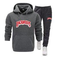 Pantalon costume Backwoods Morceaux Men's Hommes Pull Sweater Pulls de coton Deux nouveaux Chacksuits hiver + chemises de sport Chemises d'automne Hood Capot sur piste