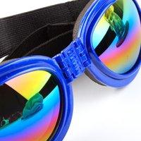 ZC 5 قطعة / الوحدة سحب الرياح الأزياء الكلاب الحيوانات الأليفة اكسسوارات طوي الحيوانات الأليفة نظارات الكلب نظارات windproof و العثة واقية من النظارات
