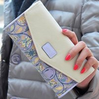 Wallets Wallet For Women Envelope Purse Long Card Holder Mobile Zip Handbag PP Zipper Fashion 2021