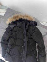 Invierno fourrure parka homme jassen chaquetas ropa exterior lobo piel con capucha manteau wyndham canadá abajo chaqueta abrigo hiver doudoune