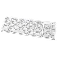 Keyboards Bluetooth Keyboard Rechargeable Portable BT Wireless With Number Pad For Laptop PC Tablet Windows Android Simly