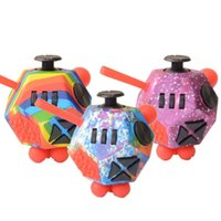 DHL Novo Fidget Brinquedos Push Anti Stress Criativo Criativo Cubos Infinito Adulto Autismo Relevo Sensory Decompression Dice Dice Toy.