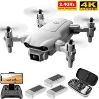 4DRC V9 Nuovo mini Drone 4K 1080P HD Camera Telecamera Wifi FPV Pressione dell'aria Altitudine Hold Grey Pieghevole Quadcopter RC Dron Giocattolo
