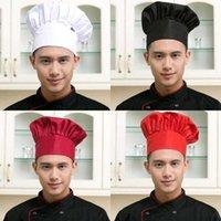 주방, 다른 식사대 인쇄 남성과 여성 요리사 식당 주방 엘 식품 서비스 웨이터 작업 모자 바베큐 버섯 모자 도매 8 색