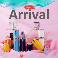 Storage Bottles & Jars IPc 5ml Mini Perfume Bottle Leather Refillable Travel Spray With Fine Mist Luxury Gift Fragrance Atomizer Container