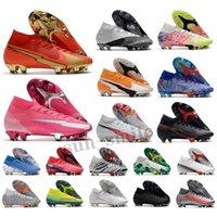 Superfly 8 VIII 360 Elite FG Soccer Shoes XIV Dragonfly CR7 Ronaldo Impulse Pack 14 MDS 004 Mens Mulheres Meninos High Football Boots Cleats US3-11