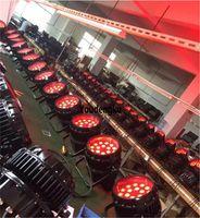 Etkileri 10 Parça Su Geçirmez 18x18W IP65 DMX StauLight RGBWA UV Renk Ledcan Yakınlaştırma Dışarıda Aydınlatma