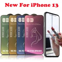 9H Beauty Mirror 8D Tempered Glass Phone Screen Protector For iPhone 13 12 11 Pro Max XR X XS 8 Plus 8Plus 7 7Plus 6 6Plus