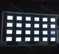 """24nits Paysage 8.5 """"x11"""" Hang de câble Cadre Acrylique LED Boîte de lumière Vitre de la boutique de la boutique avant pour les modules de détail de l'agent immobilier"""