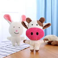 Relleno Animales de peluche Animals Pet Toys Conejo Ganado Elefante Lindo Perro Gato Toysnw0egg0k