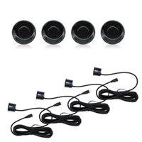 Car Rear View Cameras& Parking Sensors Sensor Kit LED Display 4 Backlight Reverse Backup Radar Monitor System 12V