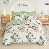 Bedding Sets Quilt Cover Four-Piece Spring And Autumn Student Dormitory Single Bed Three-Piece Pillowcase