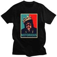 T-shirt notorious b.i.g.mens biggie petits rappeur hip hop hop the coton de haute qualité t tees occasionnel