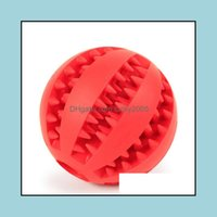 Toys Chews Dog Supplies Home & Gardenrubber Balls For Dogs Funny Puppy Toy Large Pets Teeth Cleaning Ball Pet Products Drop Delivery 2021 Lm