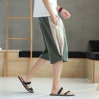 Men's Cotton Fashion Style Summer Shorts Men Clothing Casual Cargo Shorts Cotton Beach Short Pants Mens Quick Drying Boardshort