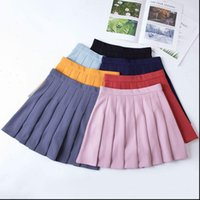 High Waist Women Skirts Chic Student Pleated Skirt Fashion Preppy Style Plaid Harajuku Uniforms Ladies Girls Dance
