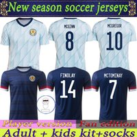 Escócia Futebol Jerseys 2022 2021 Home Away Robertson Fraser Camisa de Futebol Naismith McGregor Christie Forrest McGinn Men Kids