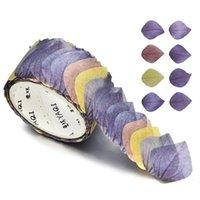 Gift Wrap 200 Stks / Roll Bloem Bloemblaadjes Washi Tape Decoratieve Maskering Geur Scrapbooking DIY Papier Japanse Stickers