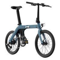 Fiido D11 Electric Folding Fahrrad 250W 36V 11.6ah Elektrische Fahrräder Power Assist Lightweight Elektrik Fahrrad für Frauen / Mädchen USA EU-Bestand