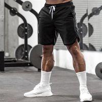 Men's Shorts Summer Running Polyester Sports Quick Dry Zipper Pocket For Training Gym Basketball Jogging Pants