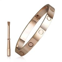 Bracelet Fashion Simple Stainless Card Five Generations the Same Type of Screwdriver Titanium Steel Women
