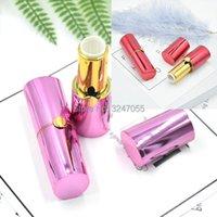 저장 병 12.1mm 10 / 30 / 50pcs 빨간색 빈 높은 클래스 화장품 립 루즈 컨테이너, DIY 플라스틱 자홍색 립스틱 병, 메이크업 바