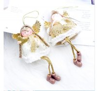Christmas Decorations Decoration For Home Angel Chirstmas Ornaments Kids Toys Tree Hanging Pendants Xmas Party Year Noel