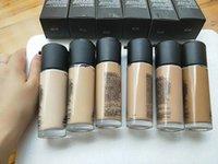 محسن قطرات الوجه مؤسسة مسحوق ماكياج توهج الألوان 35ML مستحضرات التجميل السائل مستحضرات التجميل 6 اللون