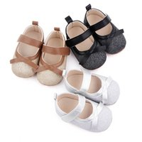 Baby Shoes First Walkers Newborn Shoe Girls Infant Footwear Moccasins Soft Toddler Wear Casual Spring Autumn Leather Bows Princess 0-1T B8742