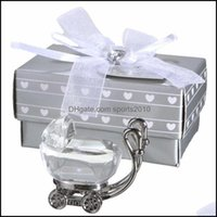 Favor Event Festive Supplies Home & Gardenindian Shower Gifts For Guest Crystal Carriage Present Party Favors Baby Souvenir Eea405 Drop Deli