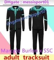 2021 Napoli Eşofman Ceket Hoodie Futbol Jersey Zielinski 20/21 SSC Napoli Uzun Fermuar Ceket Seti Veste Takım
