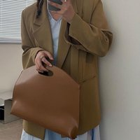 Waist Bags Korean Niche Laptop Bag Temperament Hand-carry Office Commuter Briefcase Female Black Purse Women Hand Pouch For