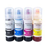 Bottle Ink For L3150 L3110 104 502 512 504 EcoTank Printer ET2700 ET2750 ET3700 ET2711 Refill Dye Kits