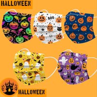 2022 Halloween Disposable Adult Kids fashion party mask luxury Christmas Designer Face Masks Non-Woven Anti-Dust top quality