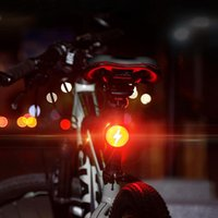 Bike Lights LED Road Bicycle Taillight USB Rechargeable Night Warning Rear Cycling Taillights Ridding Accessories
