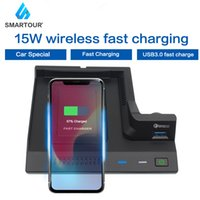 15W Car Wireless Phone Charging Fast Charger For Mercedes Benz AMG C43 C63 GLC C260 W205 C180 2015-2021 Accessories For Iphone
