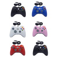 50pcs Gamepad For Xbox 360 Wired Controller XBOX360 Game Joypad XU-360 DHL