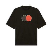 Классическая мужская футболка унисекс мода летние тройники мужчины с коротким рукавом письмо печати топы мальчиков дышащая одежда
