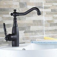 Black Oil Rubbed Brass Swivel Spout Kitchen Bathroom Sink Basin Faucet Vessel Vanity Lavatory Mixer Tap Lsf074 Faucets