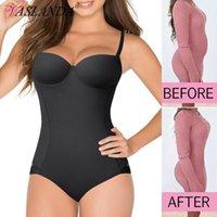 Women's Shapers Women Shapewear Bodysuits Waist Trainer Vest Slim Full Body Shaper Built-In Bra Camisole Tops Tummy Control Slimming Underwe
